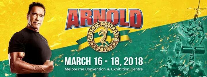2018 Arnold Classic Australia