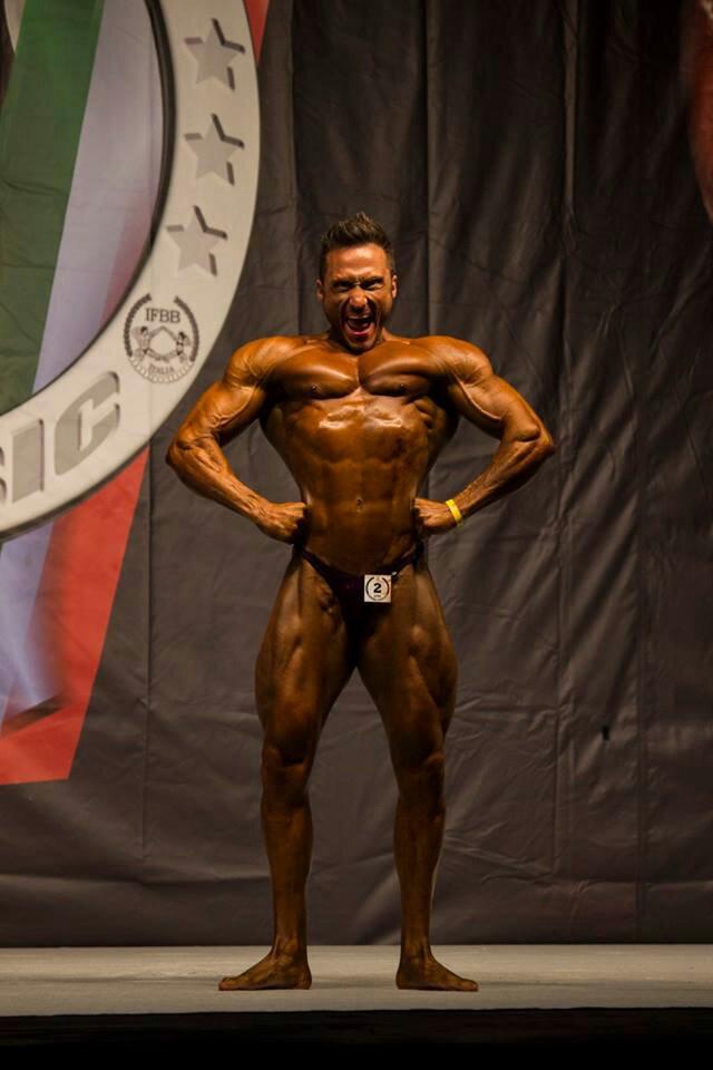Andrea Felici IFBB Champion!