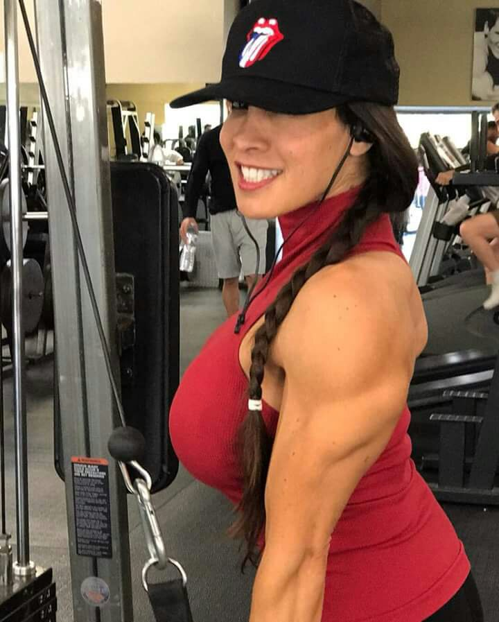 Female bodybuilder's world!