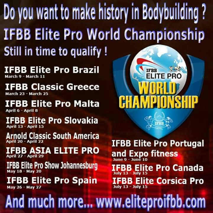 IFBB Elite Pro Events and Updates