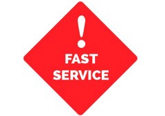 Need It Quick? Fast Local Service.