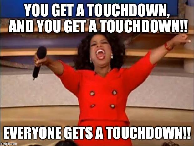 Touchdown baby!