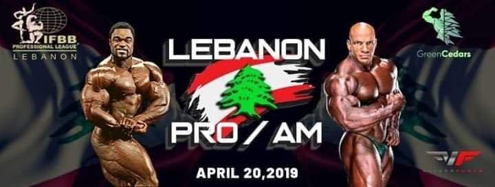 2019 Lebanon Pro IFBB