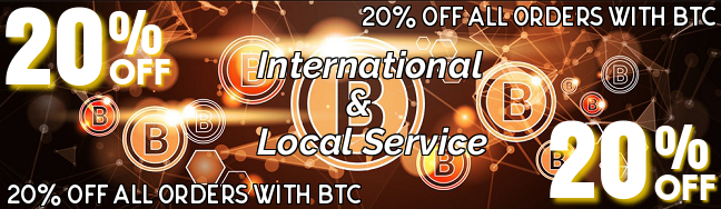 20% off ALL BTC orders HUGE SAVINGS only at P.S.L