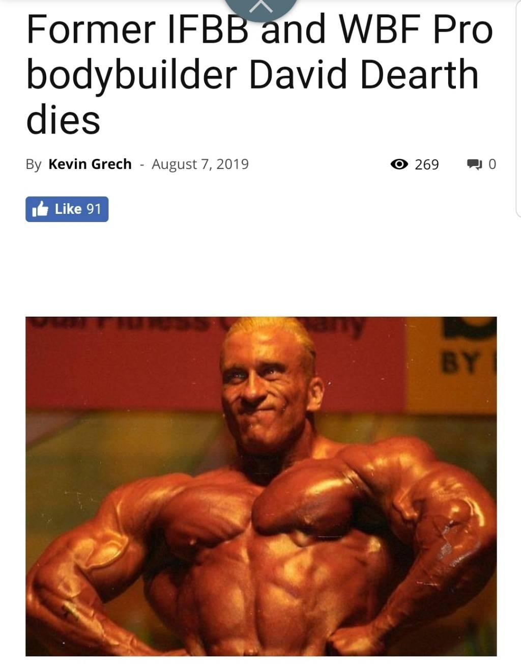 """David Deart, Bodybuildings """"Rock & Roll Wild Child"""