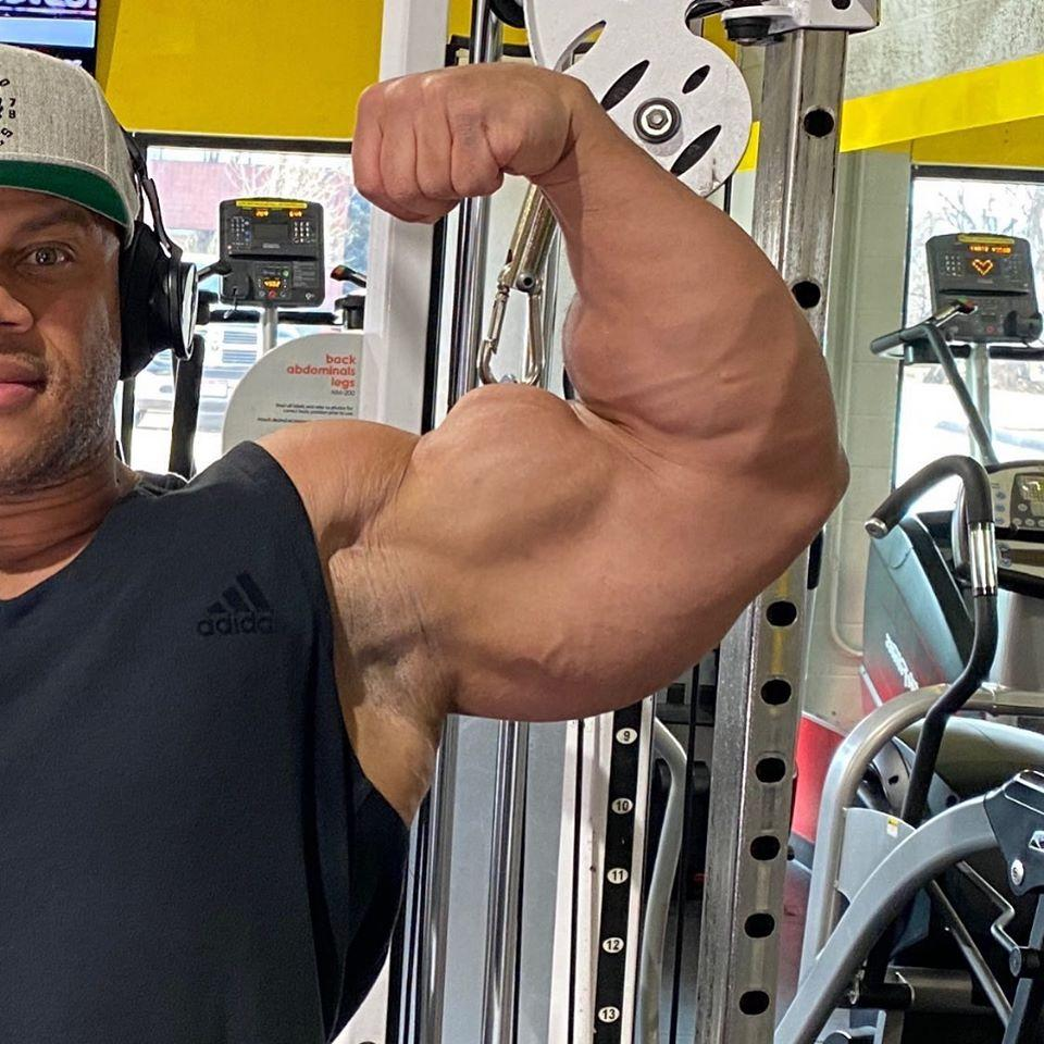 Phil Heath Updates