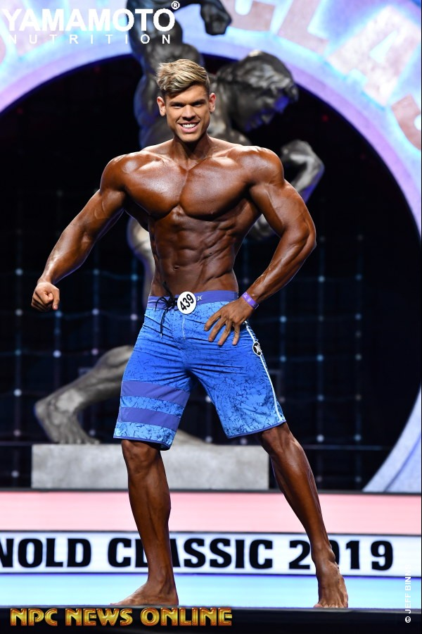 REACP: 2019 Arnold Amateur USA Men's Overall Winners Gallery