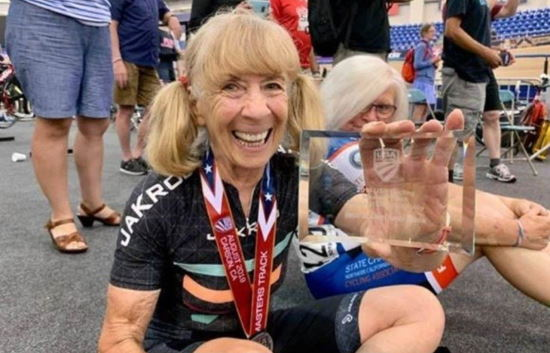 Eighty-Year Old Female Cyclist Banned for Using Methyltestosterone