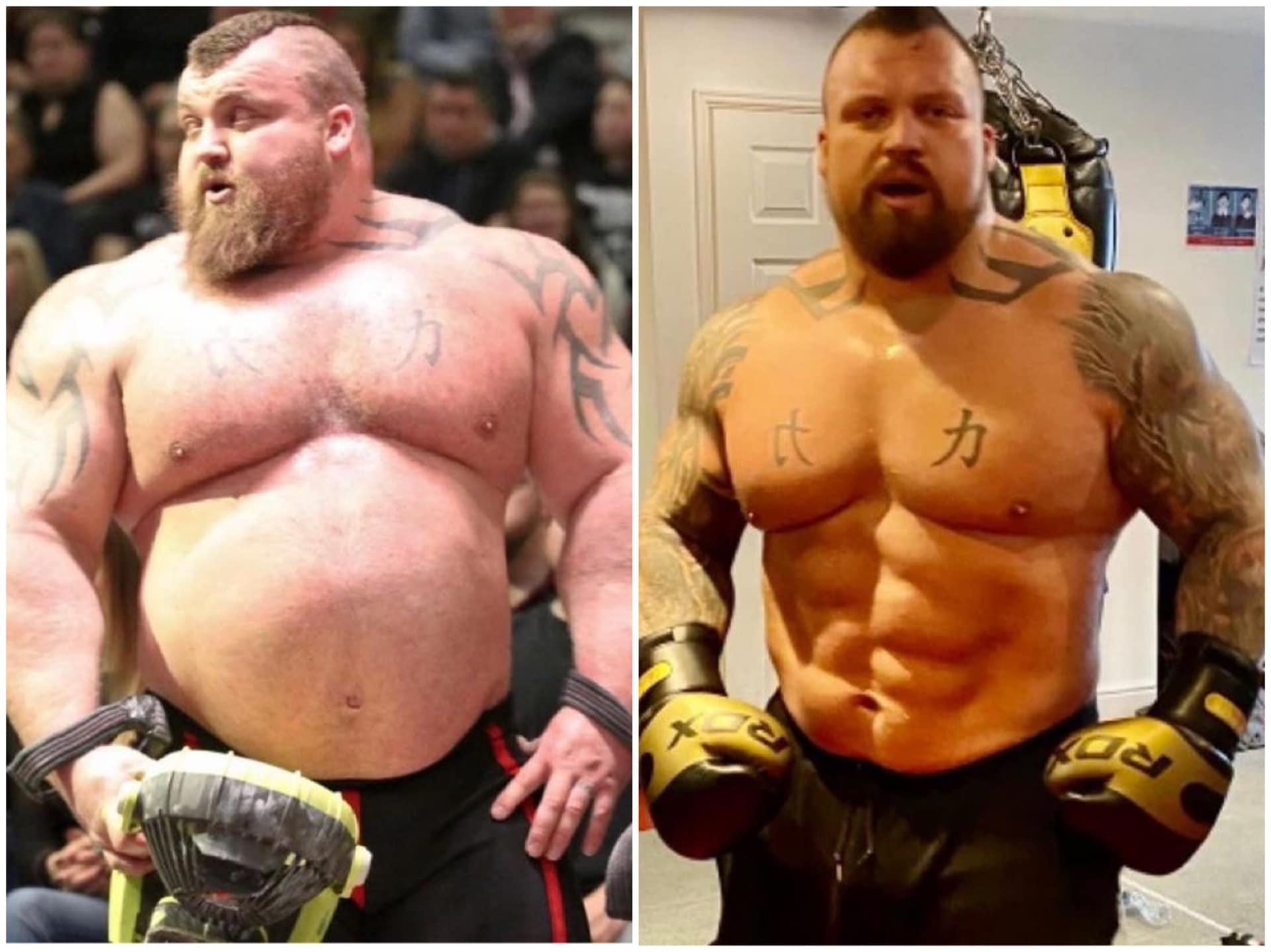 Eddie Hall Updates