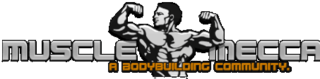 MuscleMecca Bodybuilding Forums Logo